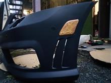 Sクラス不明 AMG後期タイプフロントバンパーの全体画像