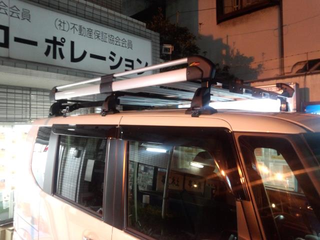 TUFREQ  (タフレック)【精興工業】 ルーフキャリア