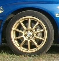 Prodrive P-WRC1 17インチ 7J