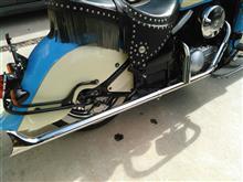 バルカン400ドリフターアメリカンドリームス ストレートフィッシュマフラー 高音タイプの単体画像