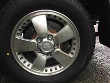 ボンゴバン三菱自動車(純正) 三菱純正アルミホイールの全体画像