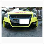 L'aunsport JWRC CUSTOM NEW SWIFTユーロレーサーズFバンパー