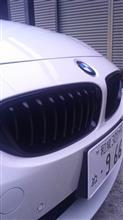 4シリーズ クーペM PERFORMANCE ブラックキドニーグリルの単体画像