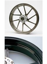 CBR600RRGALE SPEED アルミ鍛造ホイールTYPE-R ブラックメタリックの単体画像