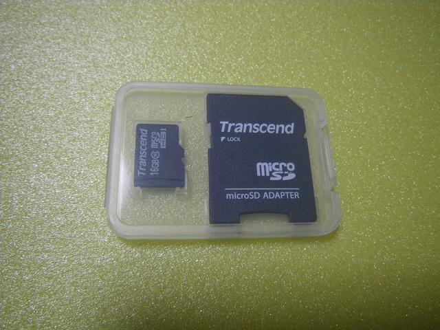 Transcend  microSD メモリーカード