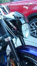 XV1700PC ウォーリアハーレーダビッドソン ナイトロッド純正ヘッドライトの単体画像