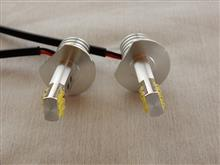 ジュリエッタe-auto fun 12V専用LEDヘッドライト/フォグランプ H1 60W/6500K SHARP製LEDチップ12連搭載 コンパクト設計ミニサイズ 純正ハロゲンサイズ 2本セットの単体画像
