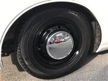 グロリアワゴン日産(純正) 430用爪鉄ホイールの単体画像