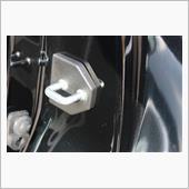 Negesu スバル ドア ストライカー カバー 黒 / ストッパーカバー / LEDライト【ロゴなし】