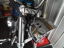 XL1200Vハーレーダビッドソン(純正) バイザースタイル・トリムリングの全体画像