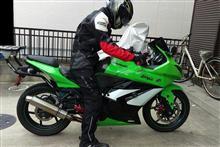 Ninja250RDAYTONA(バイク) リアローダウンリンクロッドの全体画像