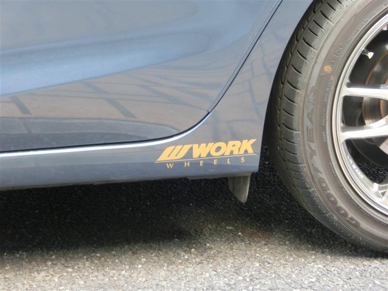 WORK 「WORK」ステッカー