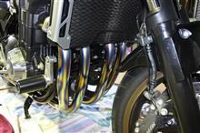 CB1300 SUPER BOL D'OR (スーパーボルドール)r's gear(アールズ・ギア) WYVERN チタンクロスオーバルドラッグブルーの全体画像