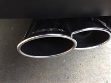 C4 カクタスMUSKETIER  C4カクタス オーバル スポーツマフラー4本出し(2x119x78mm)×2の全体画像