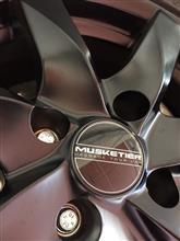 C4 カクタスProLine Wheels 黒アルミホイールの単体画像