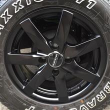 C4 カクタスProLine Wheels 黒アルミホイールの全体画像