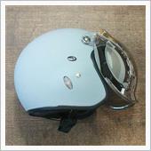 OGK ジェットヘルメット用 ワイドバブルシールド フラッシュミラー:クリア(WB-FCL)
