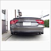 balance it Audi A7(4G)2010-2014 Rear Diffuser