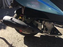 ティグラ125JWL Sports ハイパワーサイレントマフラーの単体画像