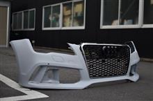 A7 スポーツバックメーカー不明 RS7仕様 フロントバンパーの単体画像