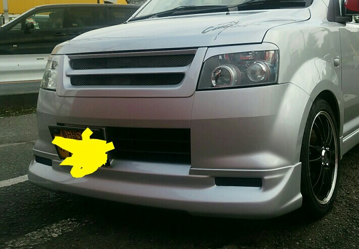 ROAR / 三菱自動車カーライフプロダクツ フロントエアロバンパー