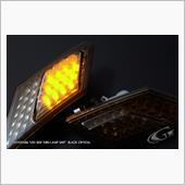 Grazio&Co. LEDサイドターンランプ ブラッククリスタル