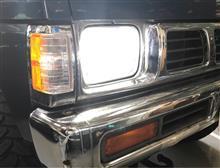ダットサントラックIPF ヘッドライト LED H4 バルブ 6500K 341HLBの全体画像