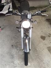 コレダスポーツ50バイクパーツセンター ヘッドライトバルブ PH7互換 12V30/30W ブルーの全体画像