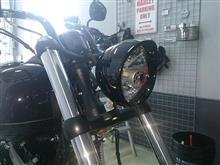 ソフテイル FXS ブラックラインハーレーダビッドソン(純正) ヘッドライト・トリムリングの全体画像