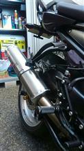 FZ1 Fazer (フェザー)ヨシムラ サイクロントライオーバルの単体画像