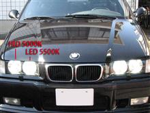 M3 セダンfcl LEDヘッドライト フォグランプ ファンレス(H1 H3 H7 H8 H11 H16 HB3 HB4) fcl【1年保証】の全体画像