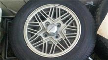 クレスタトヨタ(純正) GX71純正特別仕様車用14インチアルミホイールの単体画像