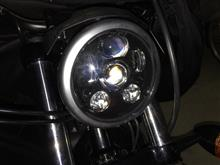 XL883NMOTOSTAR LEDヘッドライト の単体画像