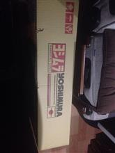 スクラムトラック(株)ヨシムラジャパン Slip-On Oval サイクロン(DA63T用)の全体画像