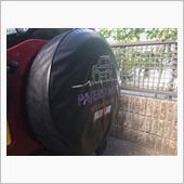 三菱自動車(純正) スペアタイヤカバー