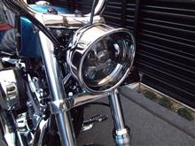 XL1200Vヤフオク LEDヘッドライトの単体画像