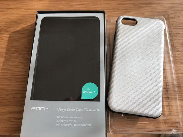 不明 iPhone7専用ケース(メタルプレート入り)