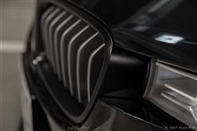 アクティブハイブリッド 3BMW M PERFORMANCE ブラック キドニー グリルの単体画像