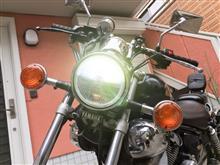 XV250 ビラーゴSafego LED ヘッドライトの単体画像