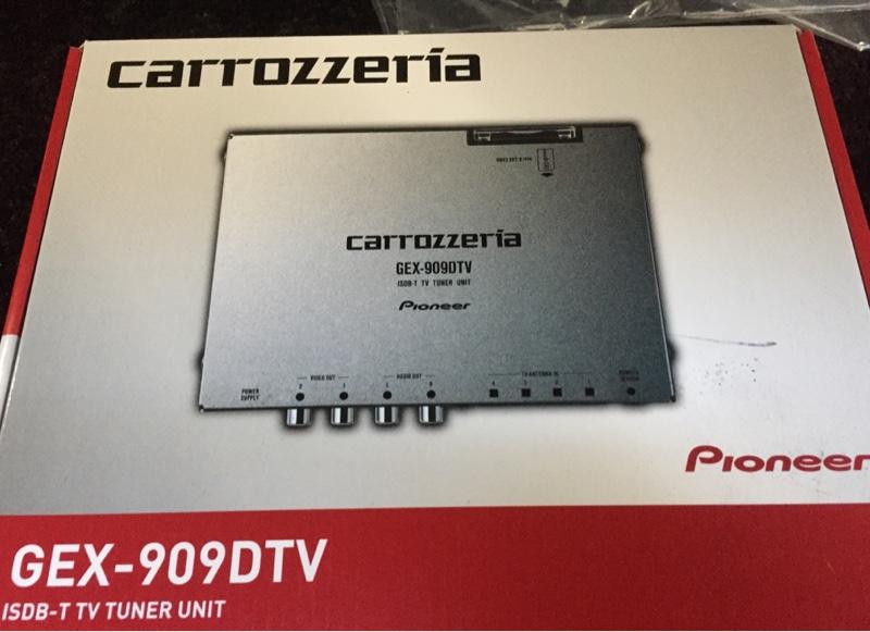 PIONEER / carrozzeria GEX-909DTV