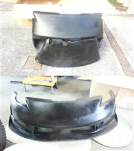 フェアレディZKBD BODYKITS  N3-R Style 1 Piece Polyurethane Front Bumperの単体画像