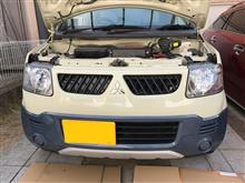 eKアクティブ三菱自動車(純正) ヘッドライト(HID用)の全体画像