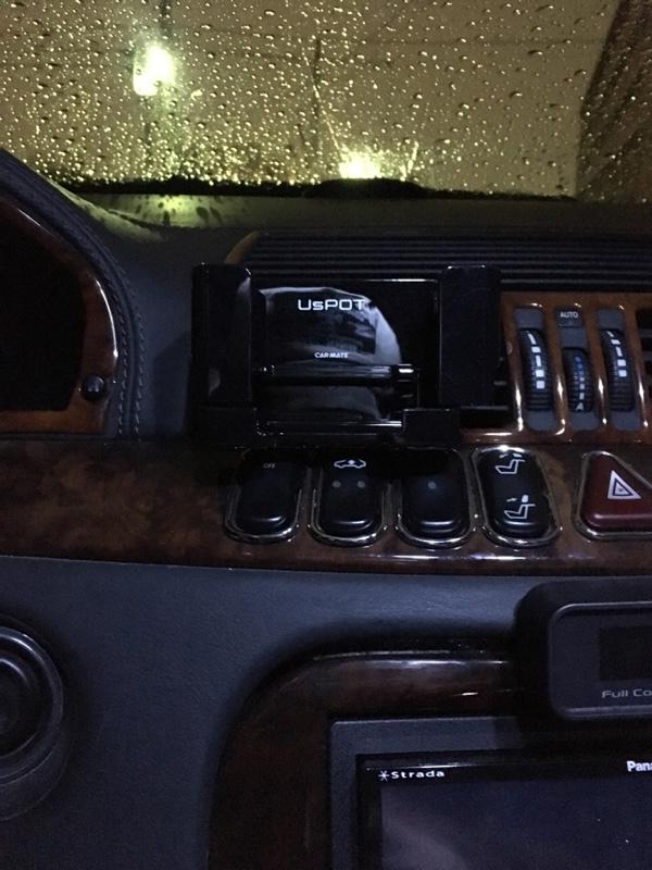 CAR MATE / カーメイト スマホルダー ワイドアーム ブラック スマートフォンホルダー / UP420