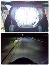 MT-09Sphere Light ライジング H4の全体画像