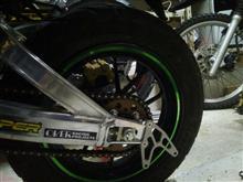 KSR PROOVER Racing GP-TEN ホイールセット ブラックの全体画像