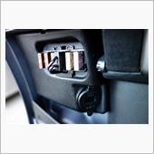 不明 USBソケット&電圧計