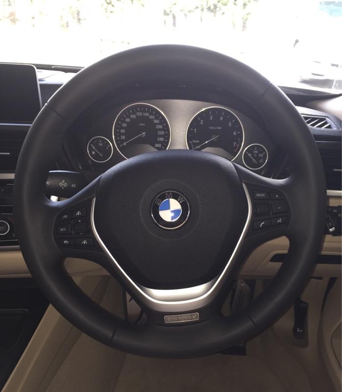 BMW(純正) BMW individual メリノレザー マルチファンクション スポーツステアリングホイール