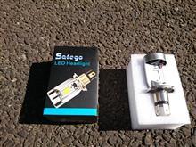 GB250 CLUBMAN (クラブマン)Safego H4 バイク用LEDヘッドライトの全体画像