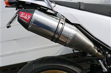 WR250Xヨシムラ Slip-On RS-4JサイクロンEXPORT SPECの単体画像