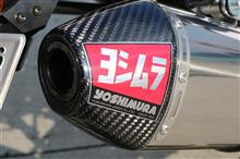 WR250Xヨシムラ Slip-On RS-4JサイクロンEXPORT SPECの全体画像
